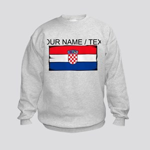 Custom Croatia Flag Sweatshirt