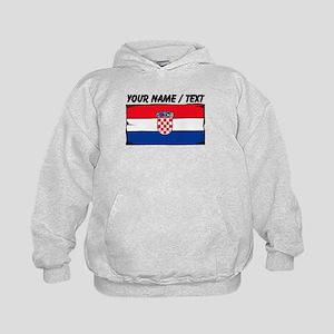 Custom Croatia Flag Hoodie