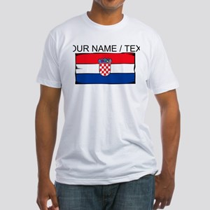 Custom Croatia Flag T-Shirt