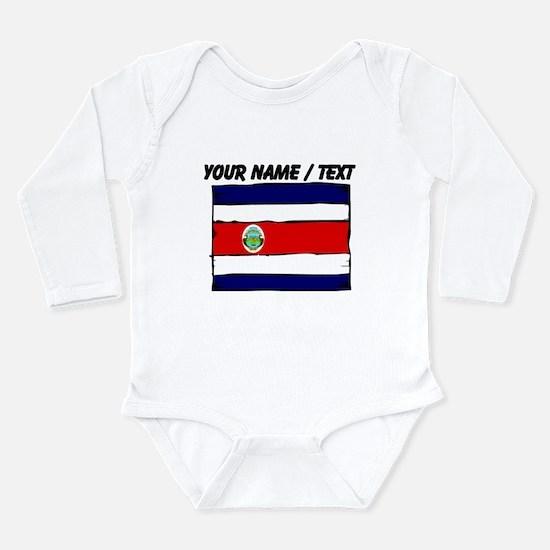 Custom Costa Rica Flag Body Suit