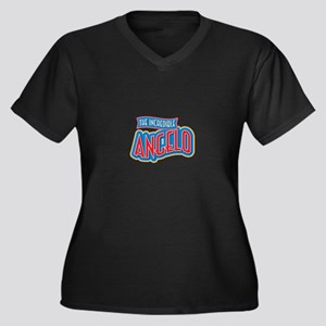 The Incredible Angelo Plus Size T-Shirt