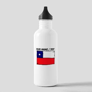 Custom Chile Flag Water Bottle