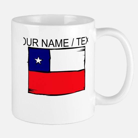 Custom Chile Flag Mug