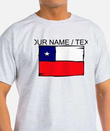 Custom Chile Flag T-Shirt