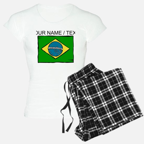 Custom Brazil Flag Pajamas