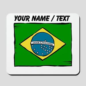 Custom Brazil Flag Mousepad
