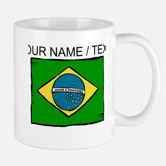 Custom Brazil Flag Mug