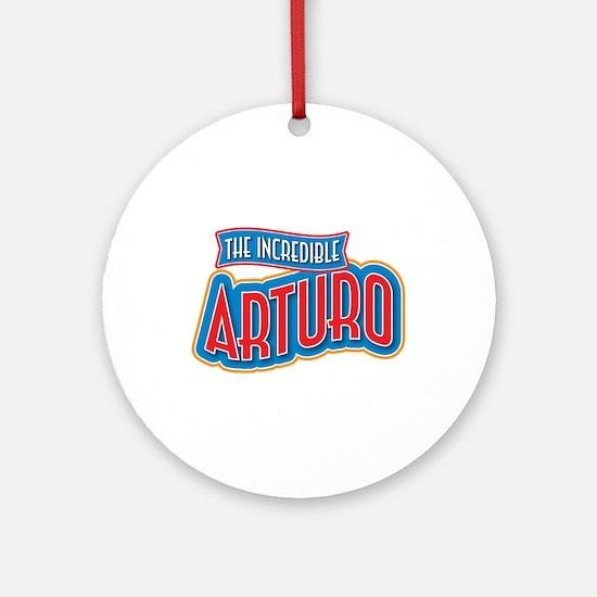The Incredible Arturo Ornament (Round)