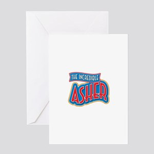The Incredible Asher Greeting Card