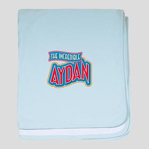 The Incredible Aydan baby blanket