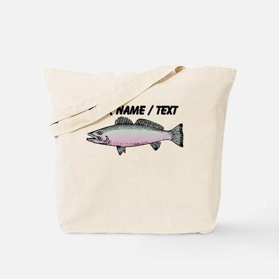 Custom Trout Tote Bag