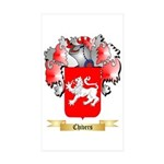Chivers Sticker (Rectangle 50 pk)
