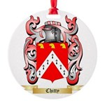 Chitty Round Ornament