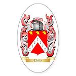 Chitty Sticker (Oval 50 pk)