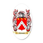 Chittock Oval Car Magnet