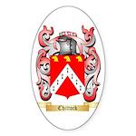 Chittock Sticker (Oval 50 pk)
