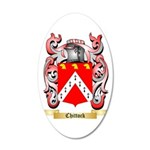 Chittock 35x21 Oval Wall Decal