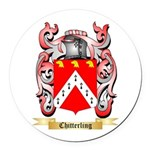 Chitterling Round Car Magnet