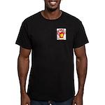 Chisom Men's Fitted T-Shirt (dark)