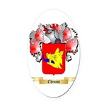 Chisom Oval Car Magnet