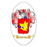 Chisom Sticker (Oval 50 pk)