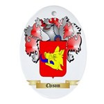 Chisom Ornament (Oval)