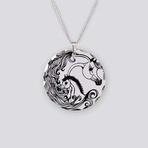 mare and foal design Necklace