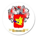 Chisolm Round Car Magnet