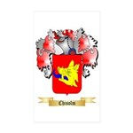 Chisolm Sticker (Rectangle 10 pk)