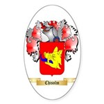 Chisolm Sticker (Oval 50 pk)