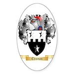 Chisman Sticker (Oval 50 pk)