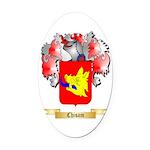 Chisam Oval Car Magnet