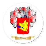 Chisam Round Car Magnet