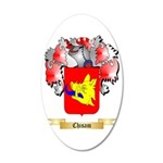 Chisam 35x21 Oval Wall Decal