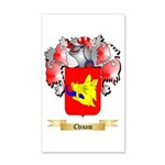 Chisam 20x12 Wall Decal