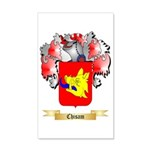 Chisam 35x21 Wall Decal