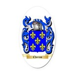 Chirino Oval Car Magnet