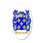 Chirino 20x12 Oval Wall Decal