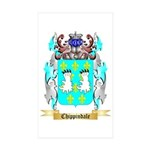 Chippindale Sticker (Rectangle 50 pk)