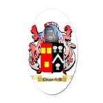 Chipperfield Oval Car Magnet