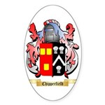 Chipperfield Sticker (Oval 50 pk)