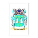 Chippendale Rectangle Car Magnet