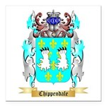 Chippendale Square Car Magnet 3