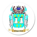 Chippendale Round Car Magnet
