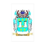 Chippendale Sticker (Rectangle 50 pk)