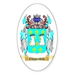 Chippendale Sticker (Oval 50 pk)