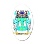 Chippendale 20x12 Oval Wall Decal