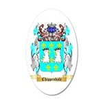 Chippendale 35x21 Oval Wall Decal