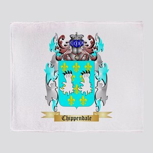 Chippendale Throw Blanket