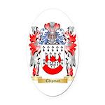 Chipman Oval Car Magnet